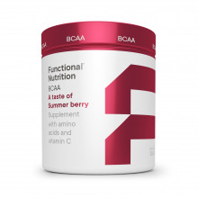 BCAA pulver fra Functional Nutrition - a taste of summerberry