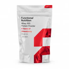 Functional Nutrition Whey 100 - a taste of strawberry