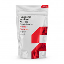 Functional Whey 100 proteinpulver A taste of strawberry