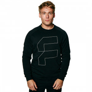 functional Big F Crewneck male forside