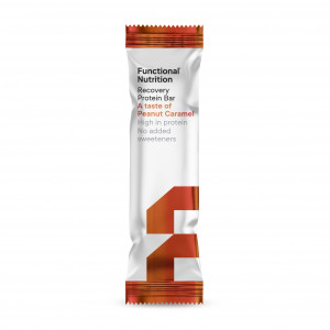 Functional Nutrition Recovery Protein Bar - A taste of Peanut Caramel