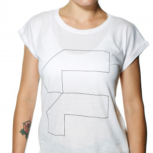 Functional white t-shirt