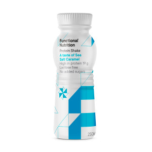 Protein Shake Sea Salt Caramel 250ml - 12 stk.