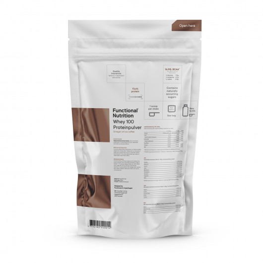 Whey 100 proteinpulver 850g A taste of Ice Coffee