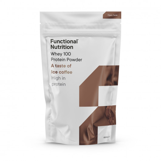 Functional Nutrition Whey 100 proteinpulver - a taste of Ice Coffee