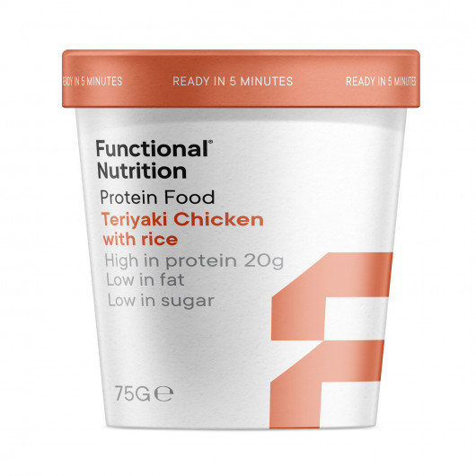 Functional Protein Food Teriyaki Chicken with Rice - 75g