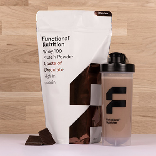 Functional Nutrition Whey 100 proteinpulver 850g A taste of chocolate
