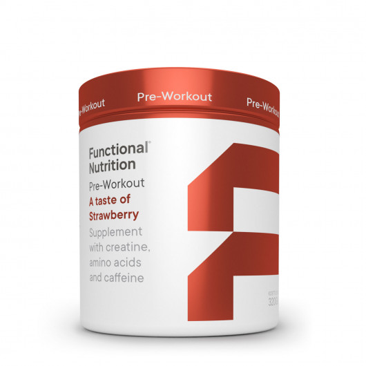Functional Nutrition pre-workout strawberry taste 850g